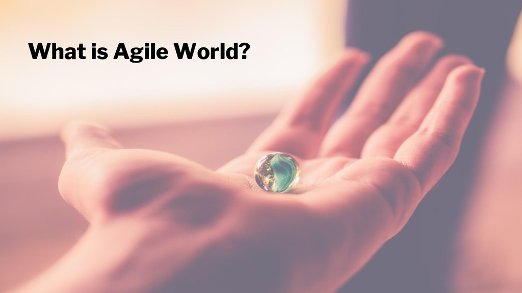 What is Agile World?