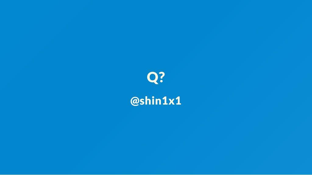 Q? @shin1x1