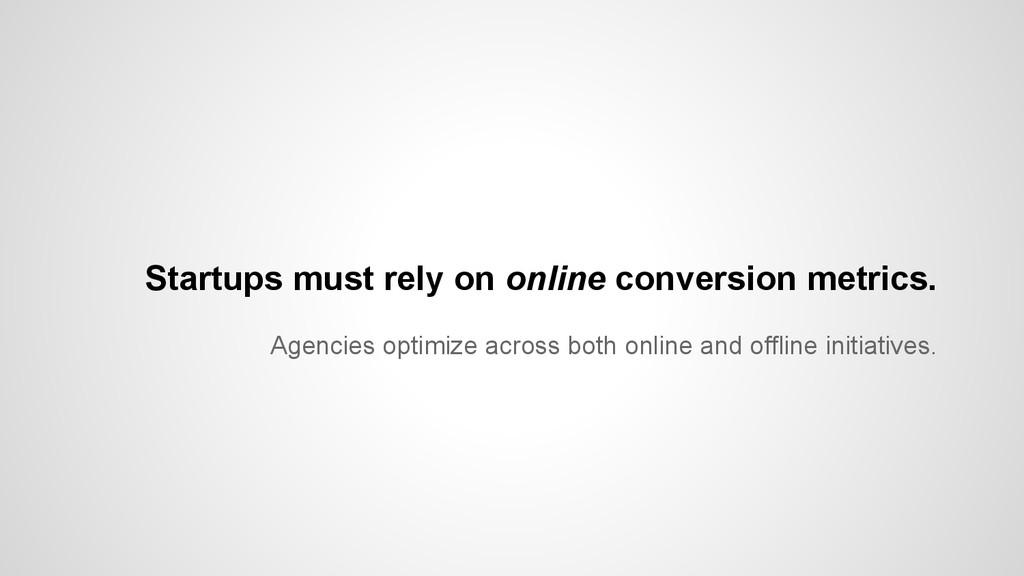 Agencies optimize across both online and offlin...