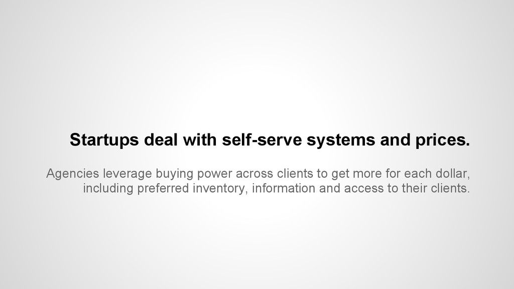 Agencies leverage buying power across clients t...