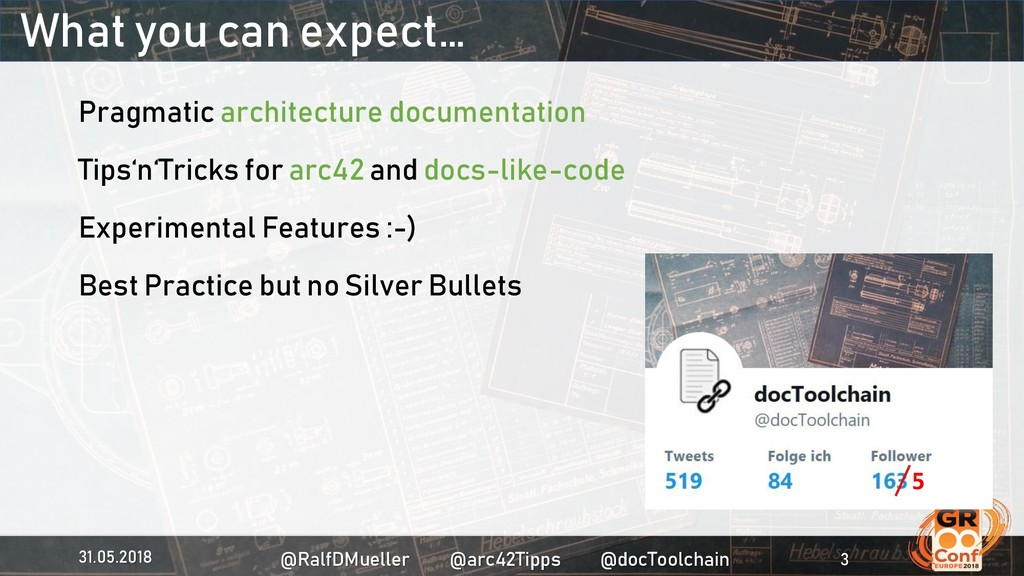 What you can expect… Pragmatic architecture doc...