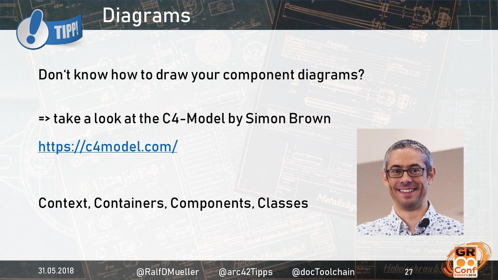 Diagrams Don't know how to draw your component ...