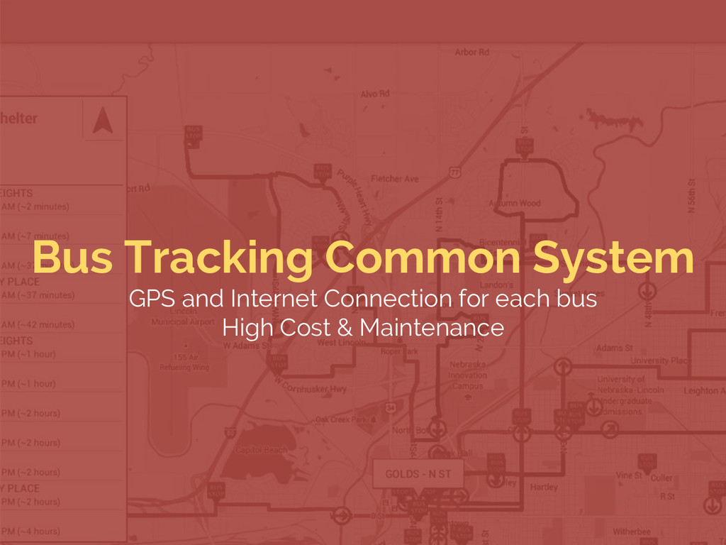 Bus Tracking Common System GPS and Internet Con...