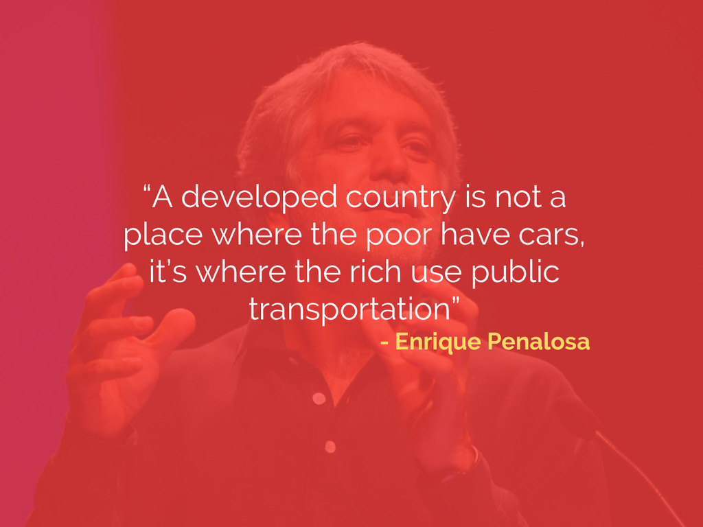 """""""A developed country is not a place where the p..."""