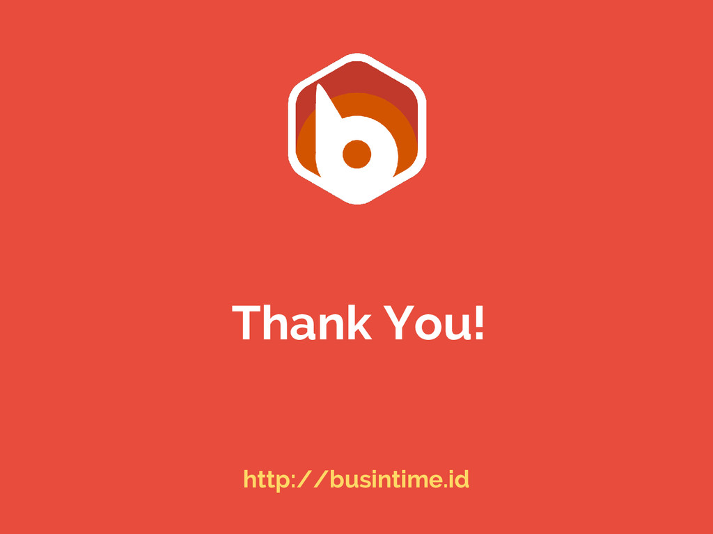 Thank You! http://busintime.id