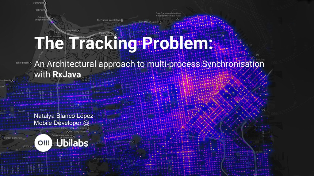 The Tracking Problem: An Architectural approach...