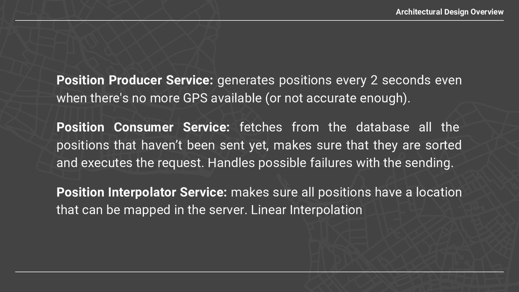 Position Producer Service: generates positions ...