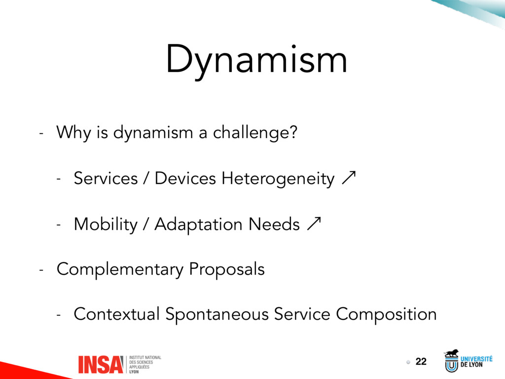 Dynamism - Why is dynamism a challenge? - Servi...