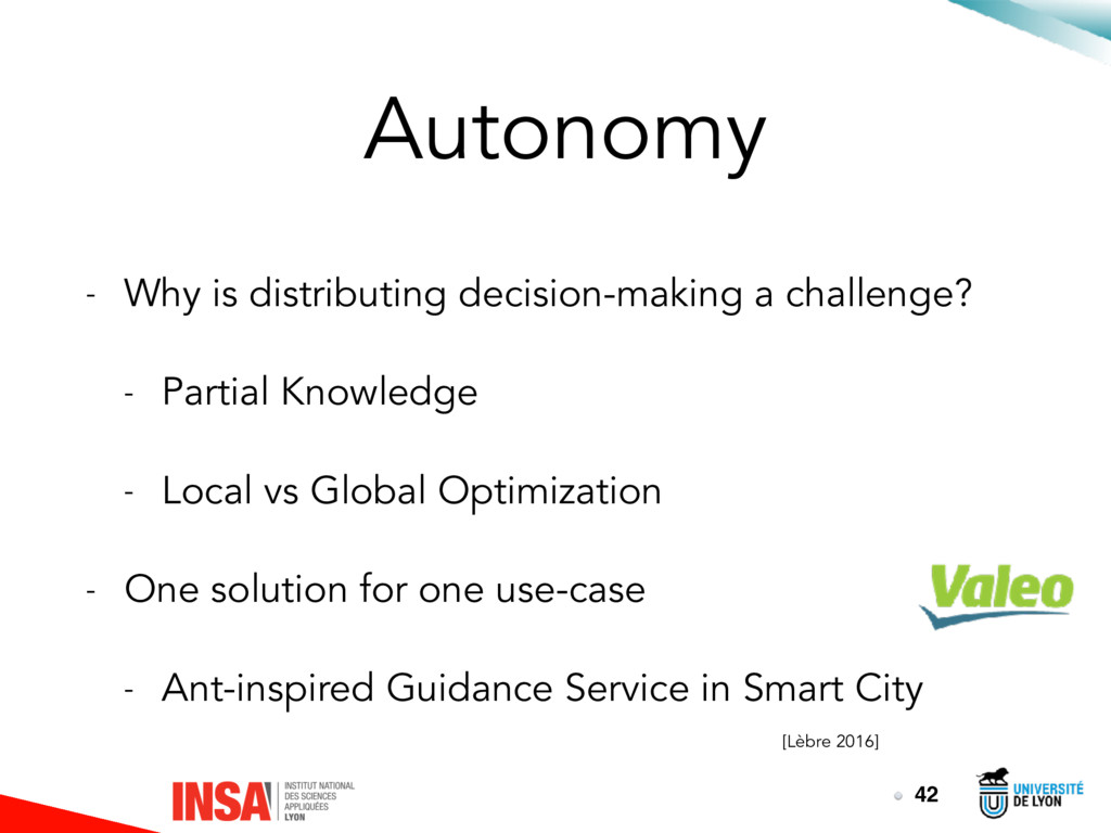Autonomy - Why is distributing decision-making ...