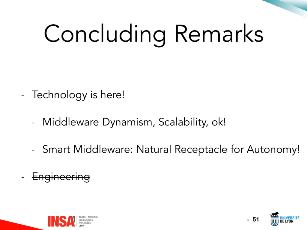 Concluding Remarks - Technology is here! - Midd...