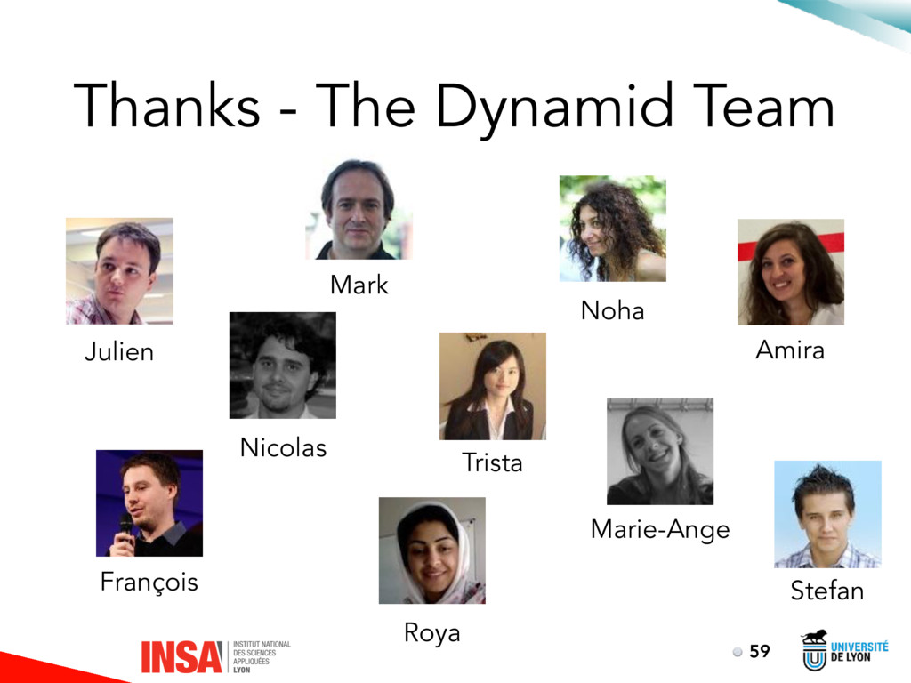 Thanks - The Dynamid Team 59 Julien Nicolas Mar...