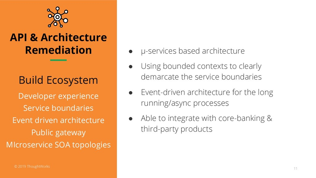 API & Architecture Remediation Build Ecosystem ...