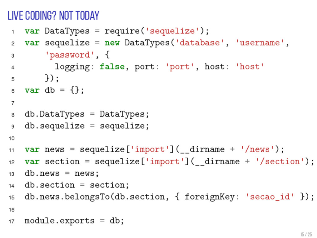 Live coding? Not today 1 var DataTypes = requir...