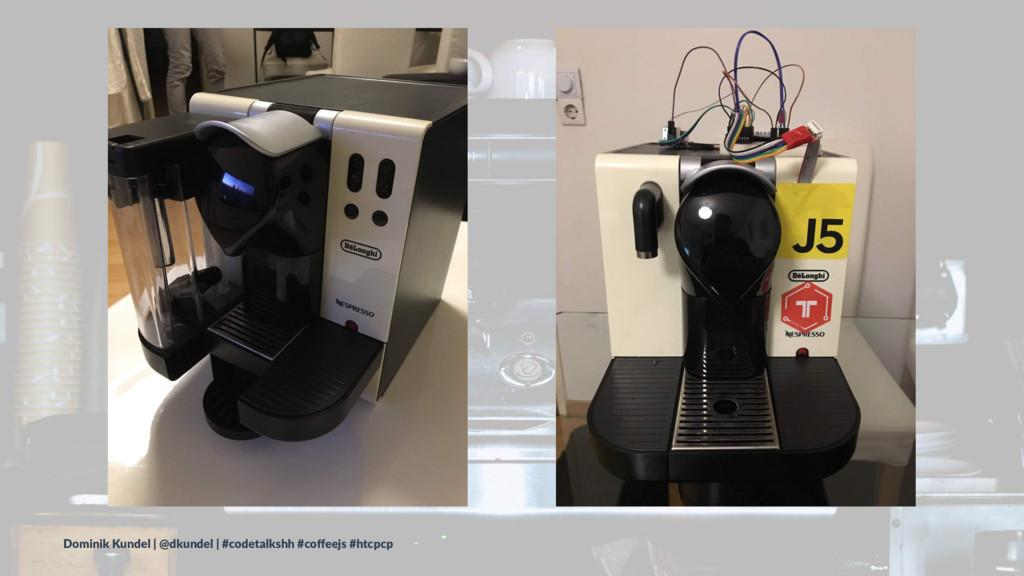 Dominik Kundel | @dkundel | #codetalkshh #coffee...