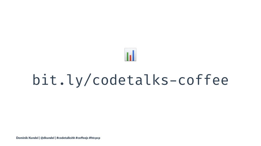 ! bit.ly/codetalks-coffee Dominik Kundel | @dku...