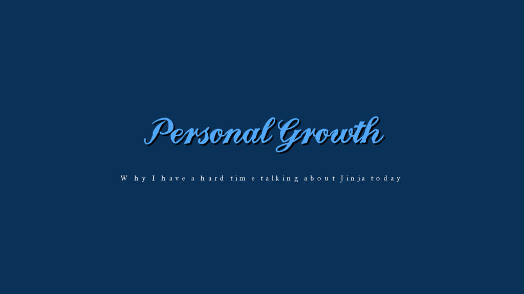 Personal Growth Why I have a hard time talking ...