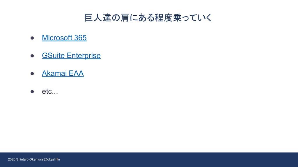 2020 Shintaro Okamura @okash1n 巨人達の肩にある程度乗っていく ...