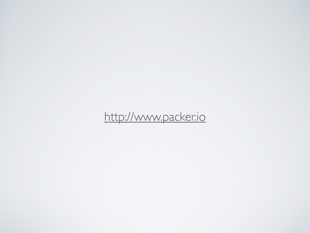 http://www.packer.io