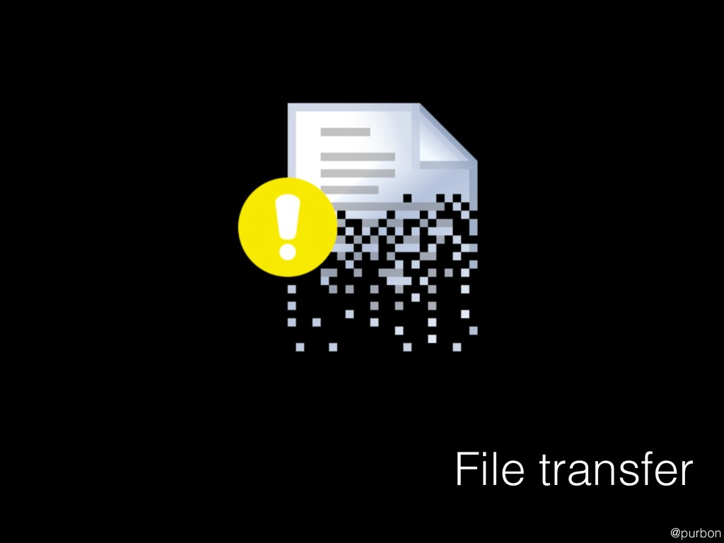 @purbon File transfer
