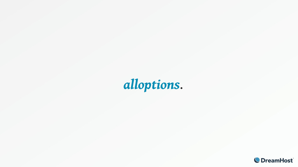 alloptions.
