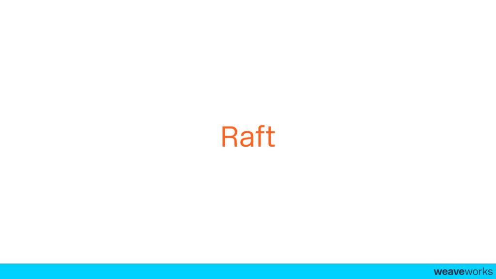 weaveworks- Raft