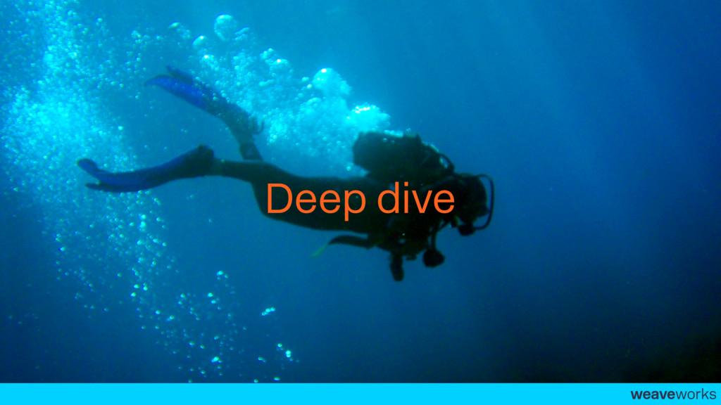 weaveworks- Deep dive