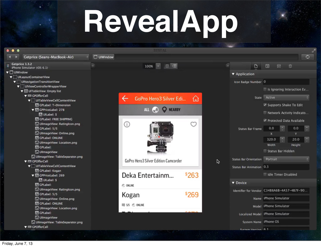 RevealApp Friday, June 7, 13