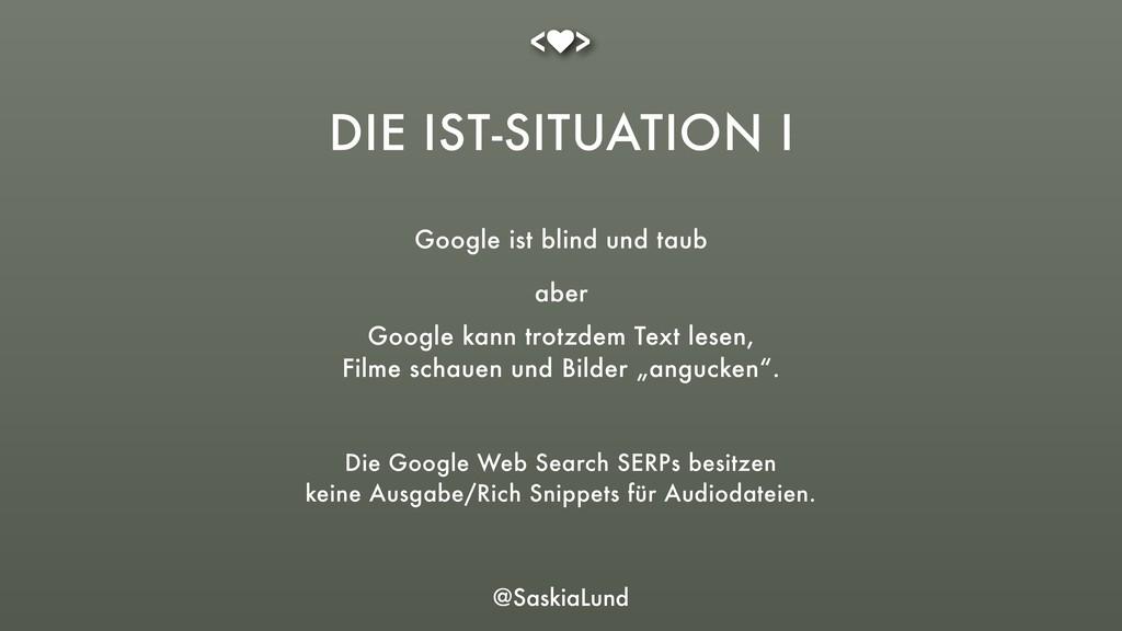 @SaskiaLund Google ist blind und taub Die Googl...