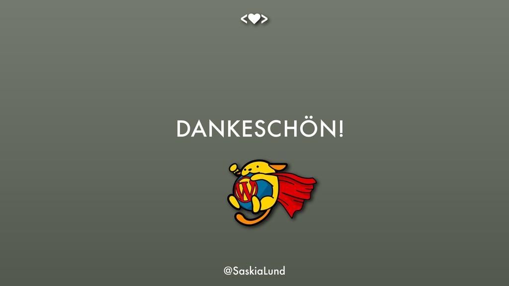 @SaskiaLund DANKESCHÖN!