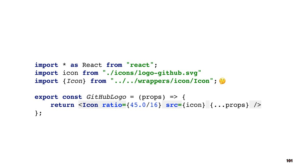 """import * as React from """"react""""; import icon fro..."""