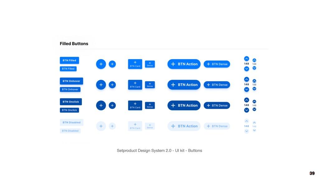 39 Setproduct Design System 2.0 - UI kit - Butt...