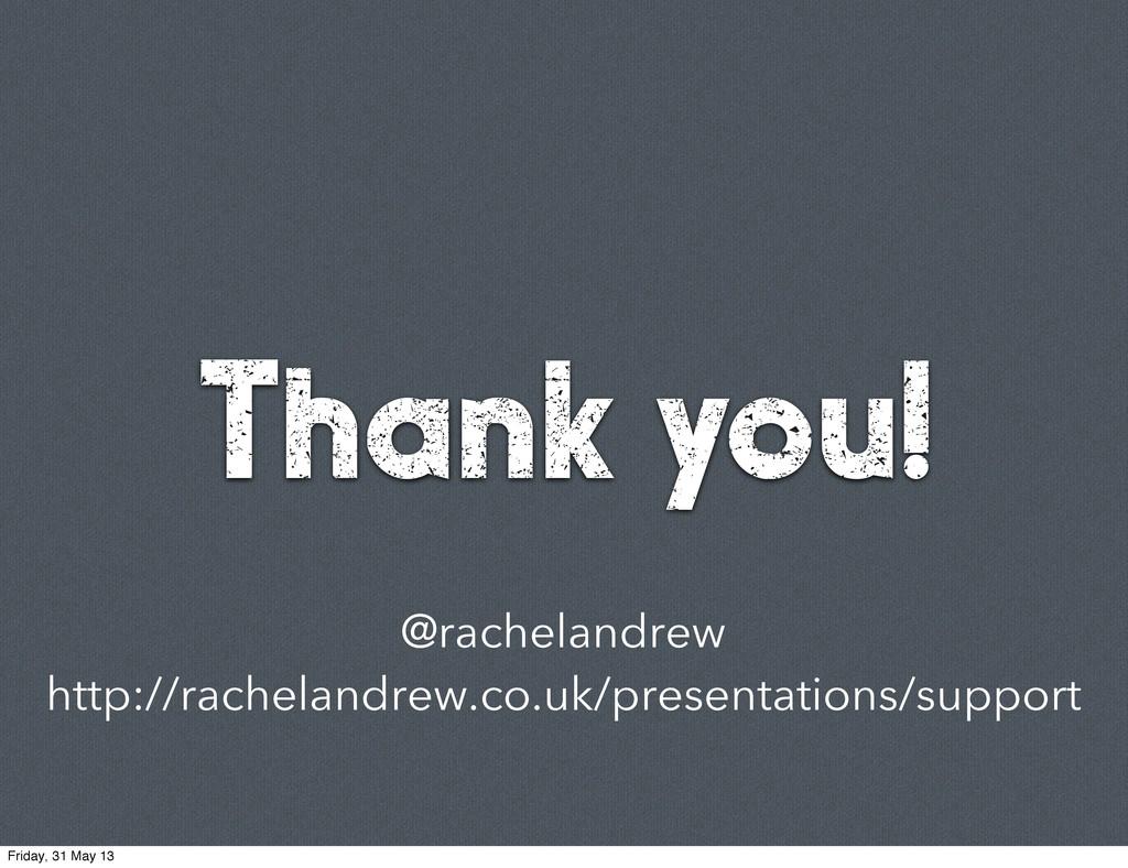 @rachelandrew http://rachelandrew.co.uk/present...