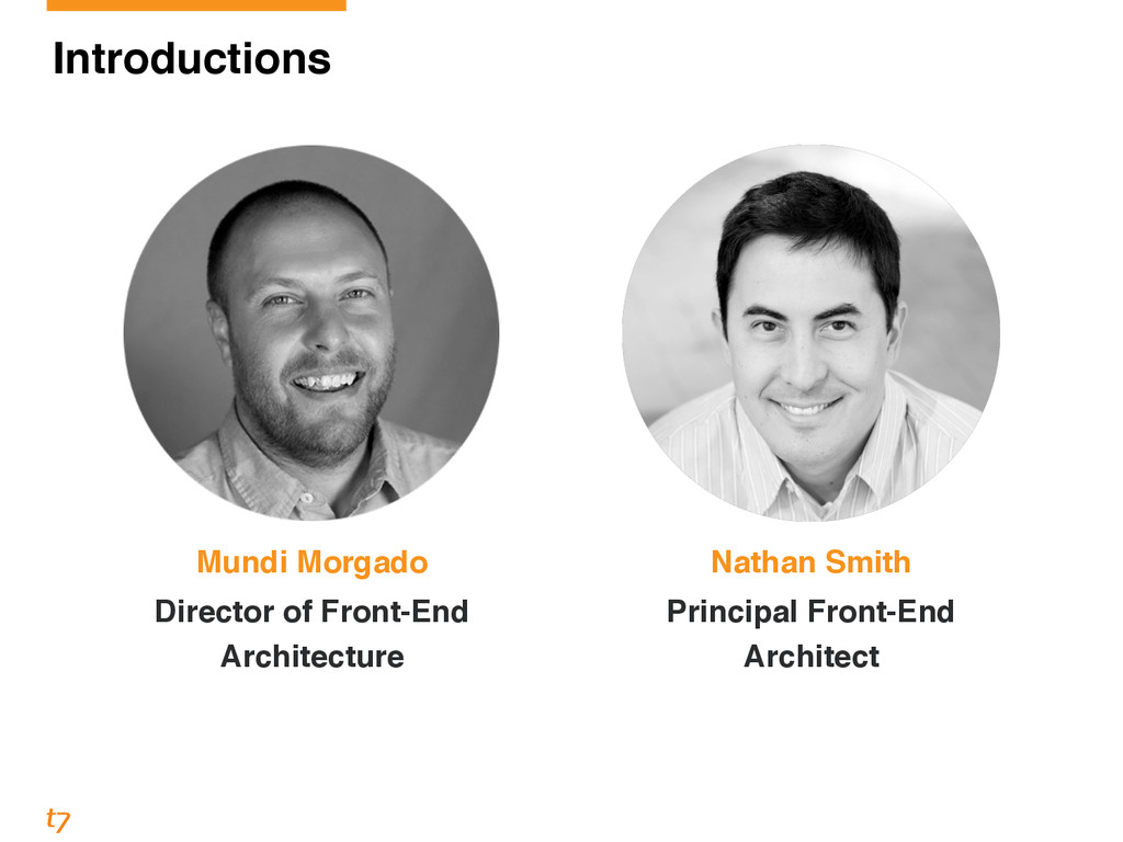 Nathan Smith! Principal Front-End Architect Mun...