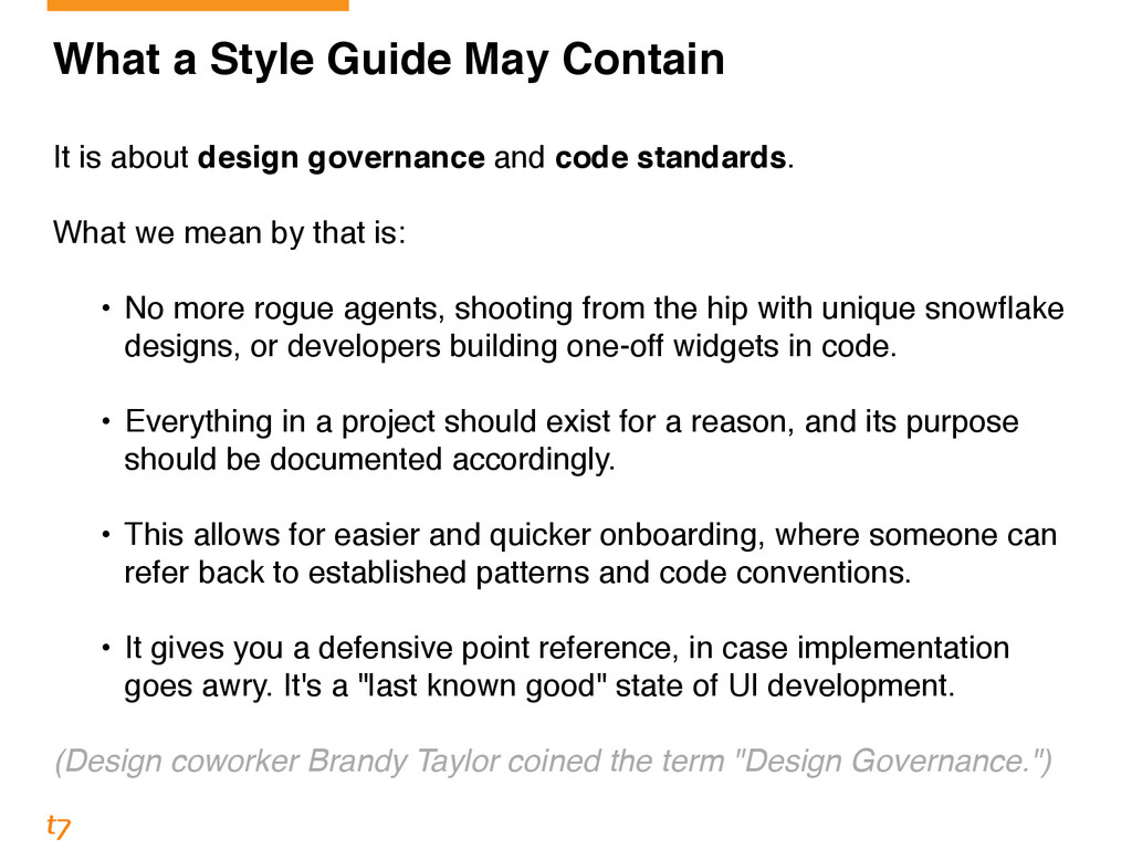 What a Style Guide May Contain! ! It is about d...