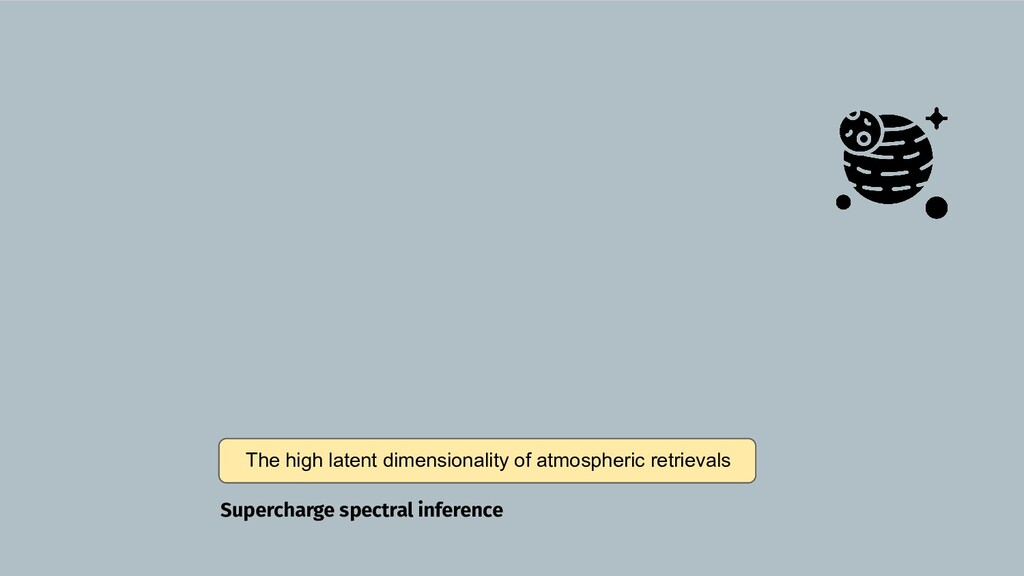 The high latent dimensionality of atmospheric r...