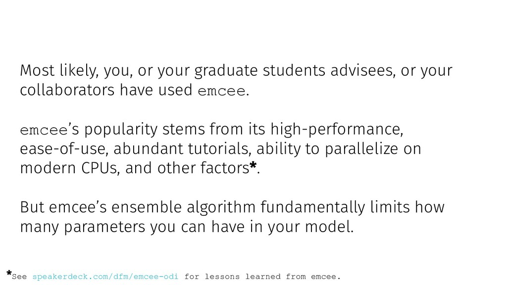 Most likely, you, or your graduate students adv...