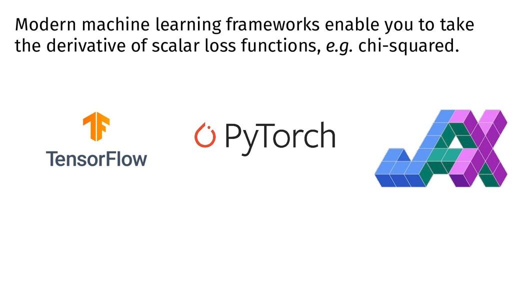 Modern machine learning frameworks enable you t...