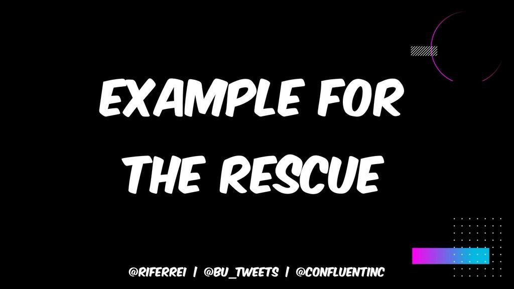 @riferrei | @BU_Tweets | @CONFLUENTINC Example ...