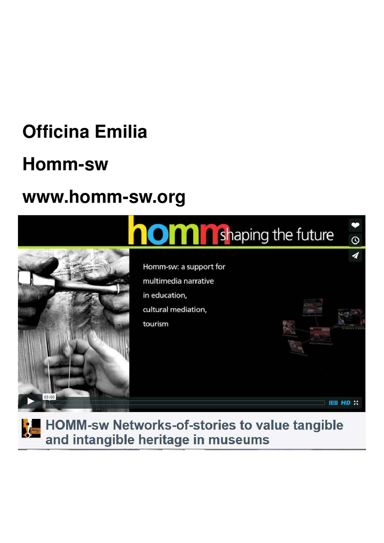 Officina Emilia Homm-sw www.homm-sw.org