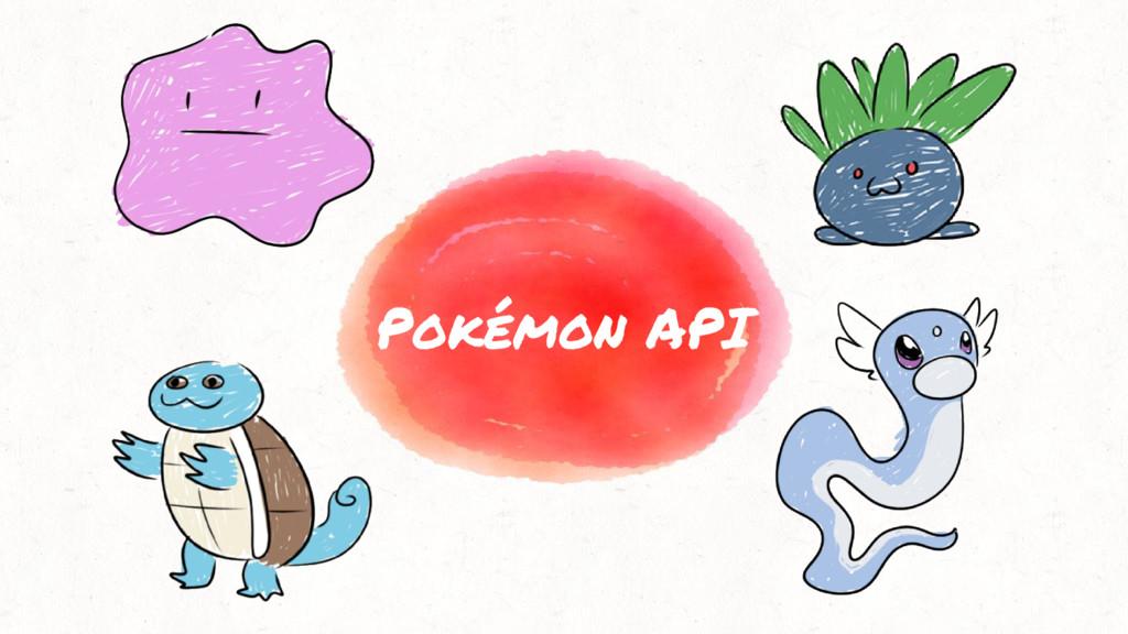 Pokémon API