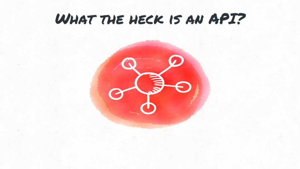 What the heck is an API?