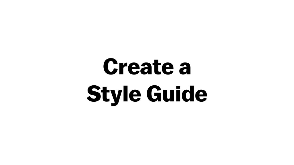 Create a 