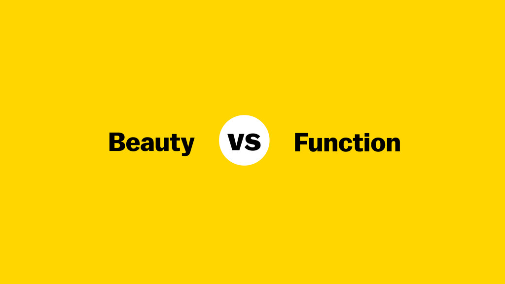 Beauty Function vs