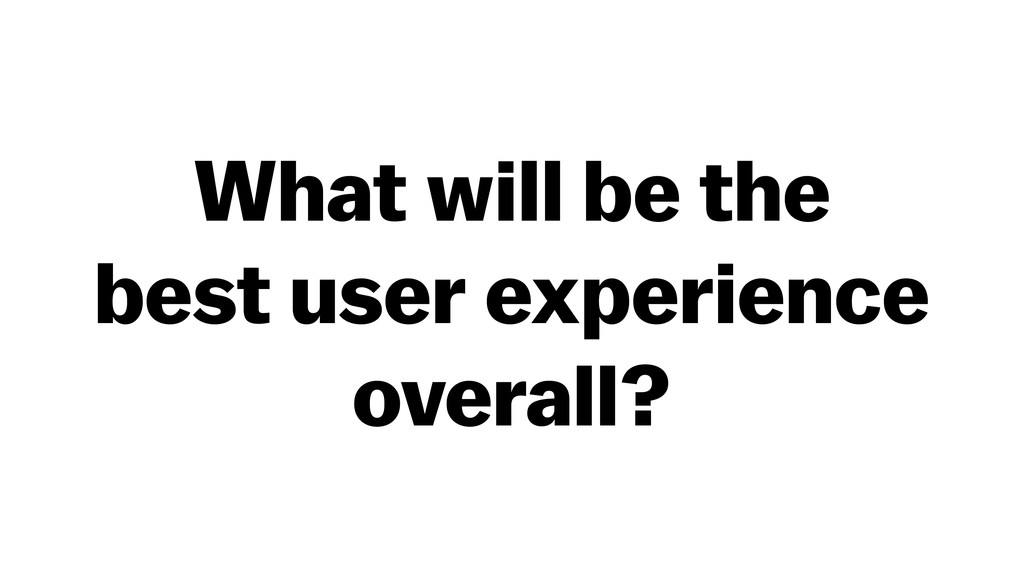 What will be the 