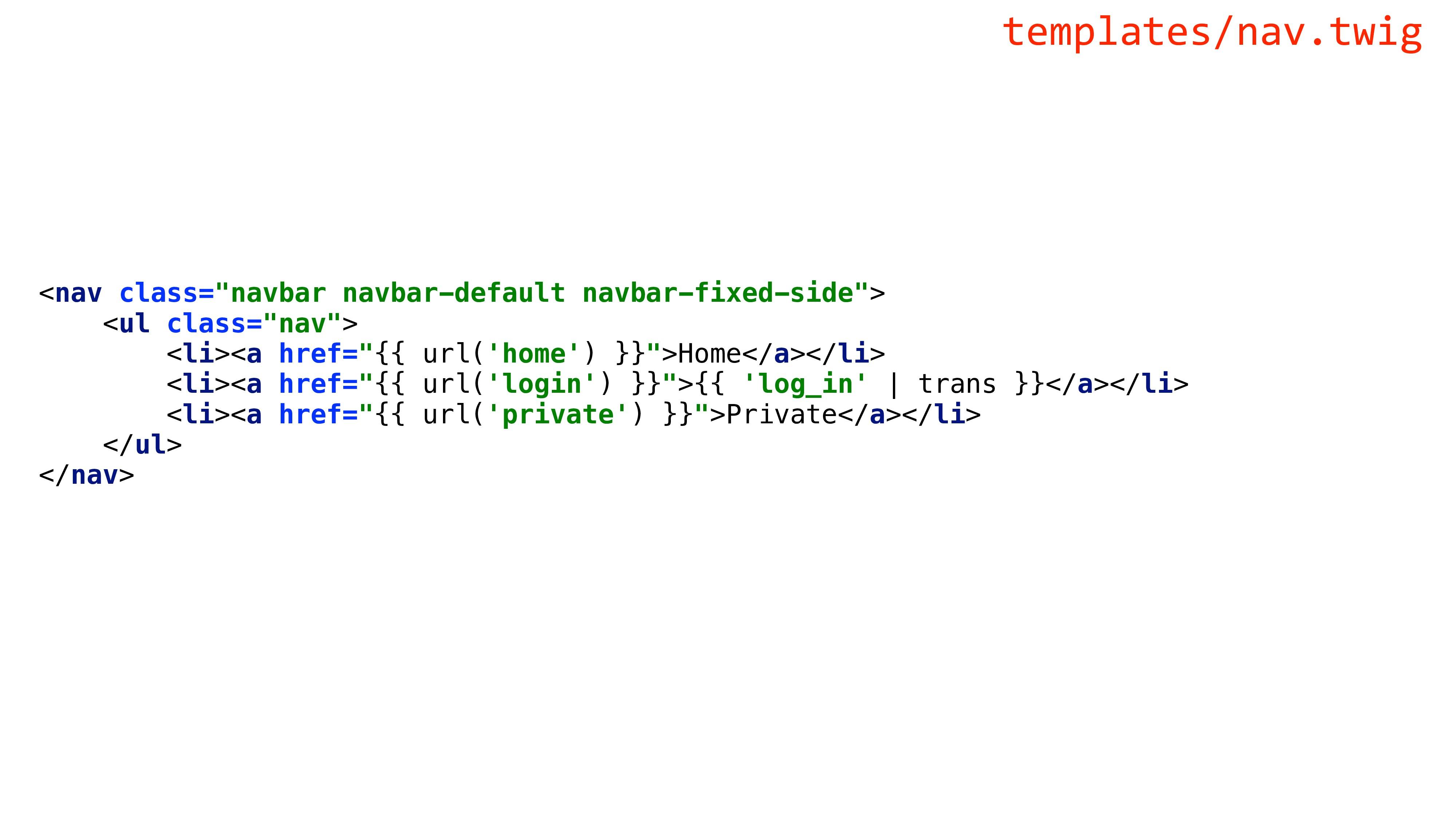 "<nav class=""navbar navbar-default navbar-fixed-..."