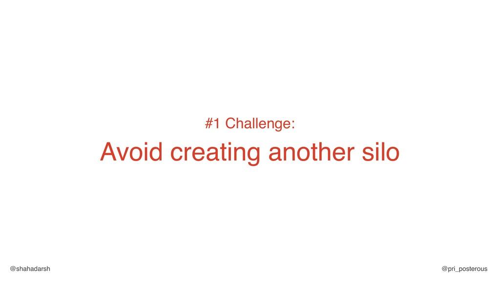 @shahadarsh @pri_posterous #1 Challenge: Avoid ...