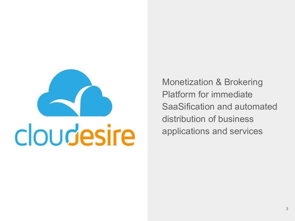 Monetization & Brokering Platform for immediate...