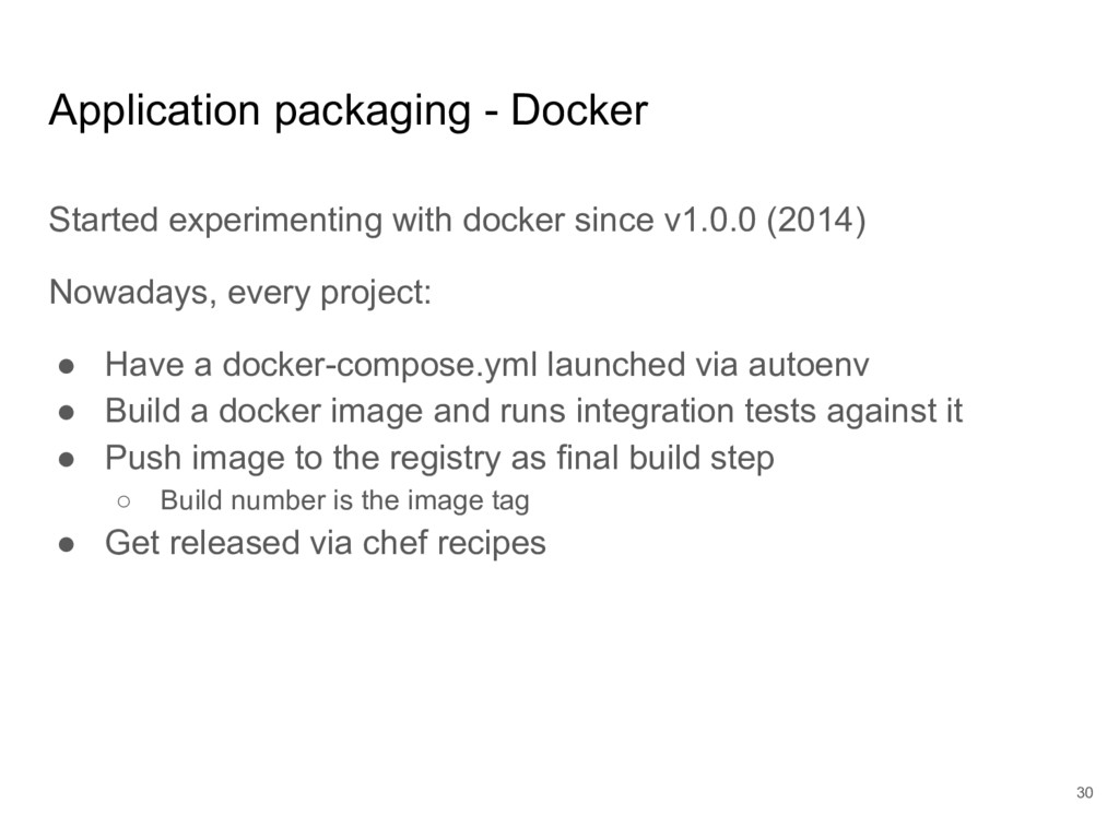 Application packaging - Docker Started experime...