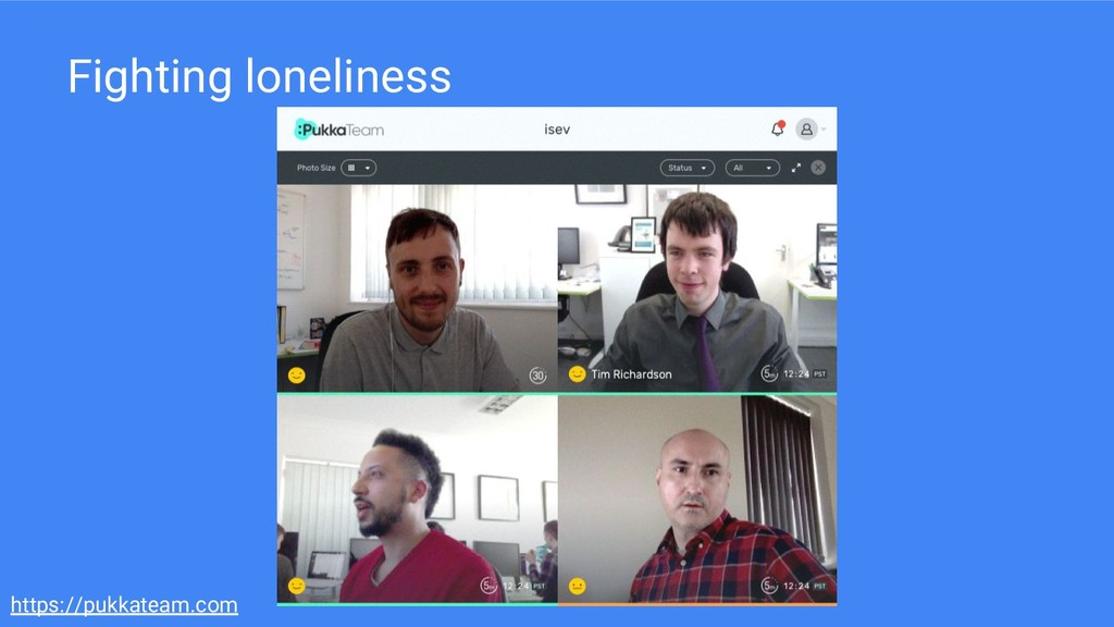 https://pukkateam.com Fighting loneliness