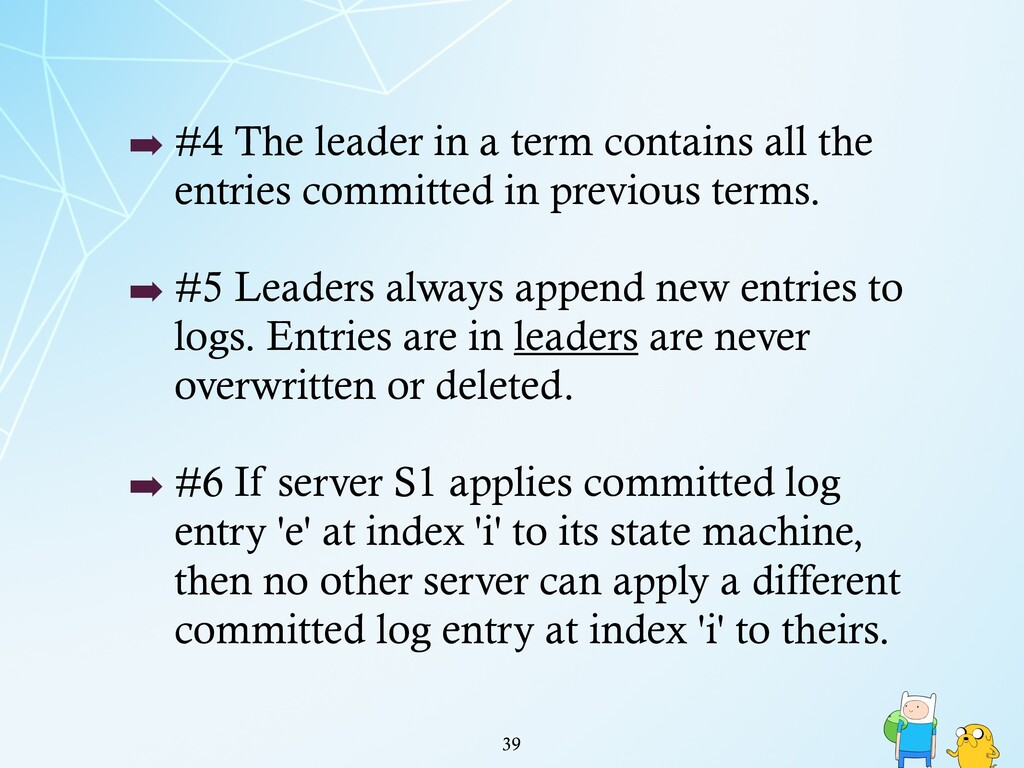 !39 ➡ #4 The leader in a term contains all the ...